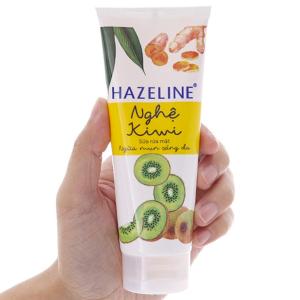 Sữa rửa mặt ngừa mụn sáng da Hazeline nghệ Kiwi 100g