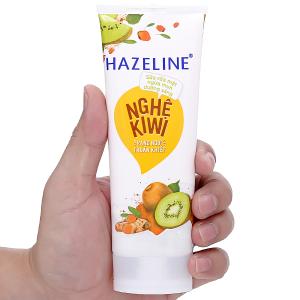 Sữa rửa mặt ngừa mụn dưỡng sáng Hazeline nghệ Kiwi 100g