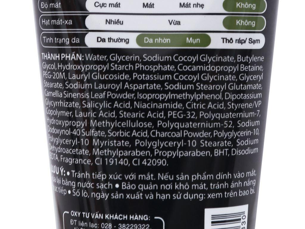 Kem rửa mặt ngăn ngừa mụn Oxy Total Anti-Acne 100g 4