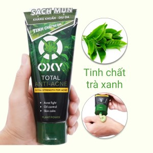 Kem rửa mặt Oxy Total Anti-Acne kiểm soát nhờn sạch khuẩn mụn 100g