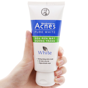 Sữa rửa mặt dưỡng trắng Acnes Pure White 100g