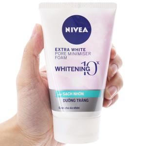 Sữa rửa mặt Nivea sạch nhờn dưỡng trắng 100g
