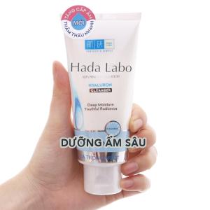 Kem rửa mặt Hada Labo dưỡng ẩm sâu 80g