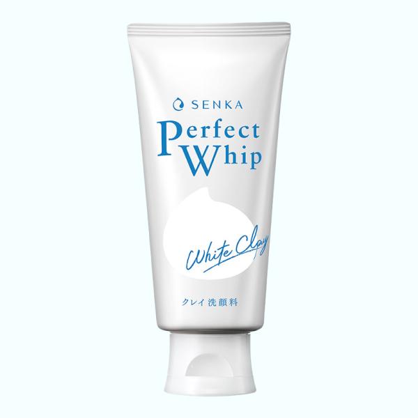 Sữa rửa mặt đất sét trắng Senka Perfect White Clay 120g