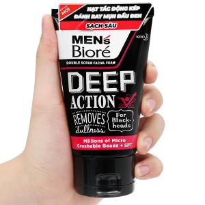 Sữa rửa mặt Men's Bioré sạch sâu 100g
