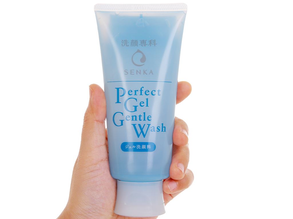 Gel rửa mặt Senka dịu nhẹ Gentle Wash 100g 5