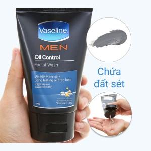 Gel rửa mặt kiểm soát dầu Vaseline Men 100g