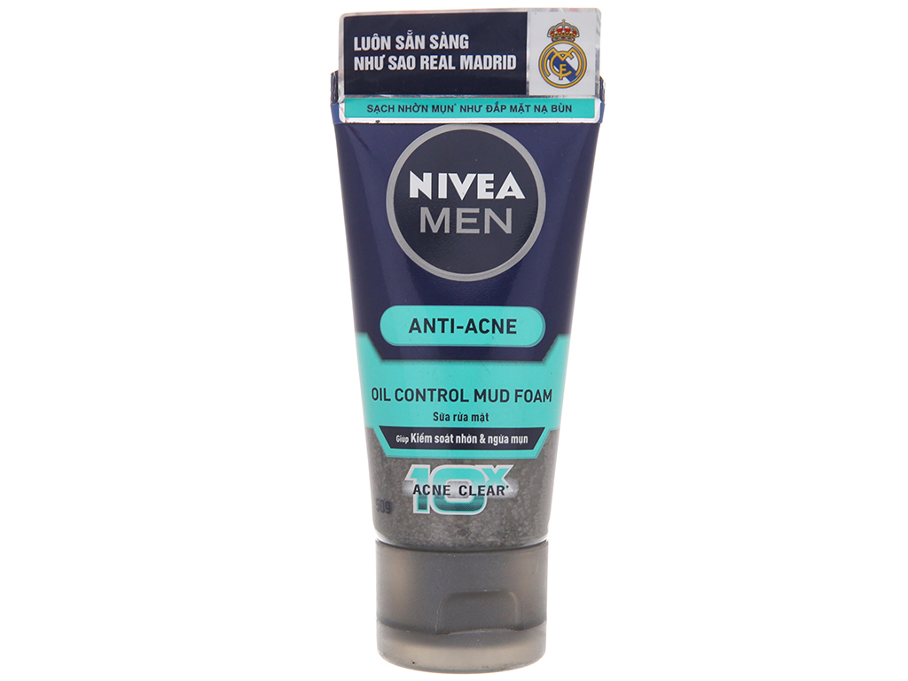 Sữa rửa mặt Nivea kiểm soát nhờn 50g 2