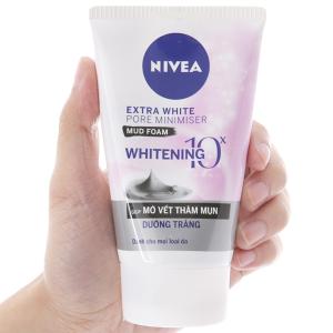 Sữa rửa mặt khoáng chất Nivea mờ vết thâm dưỡng trắng 100g