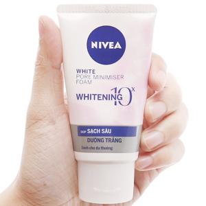 Sữa rửa mặt Nivea trắng da 5 IN 1 50g
