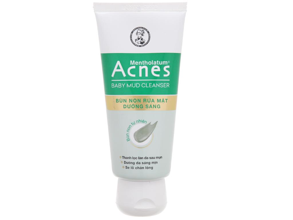 Bùn non rửa mặt dưỡng sáng Acnes 100g 2