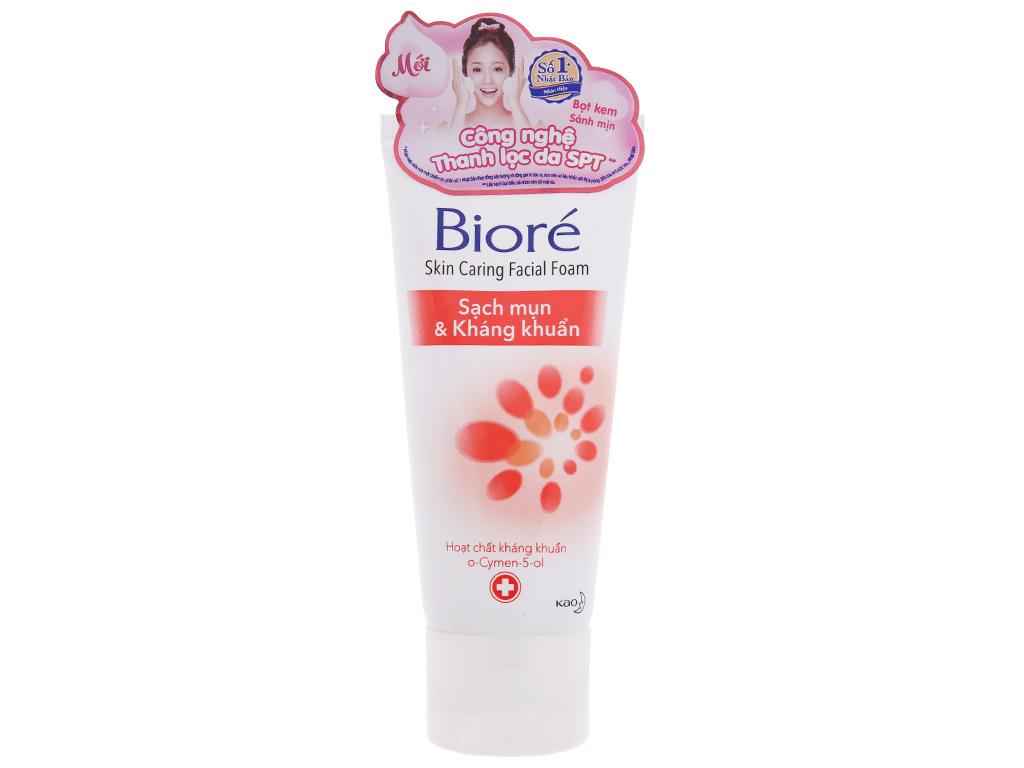 Sữa rửa mặt Bioré sạch mụn kháng khuẩn 50g 2