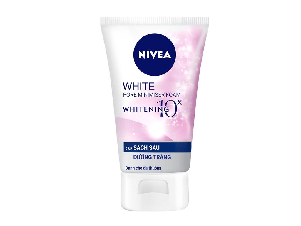 Sữa rửa mặt Nivea sạch sâu, dưỡng trắng 100g 2