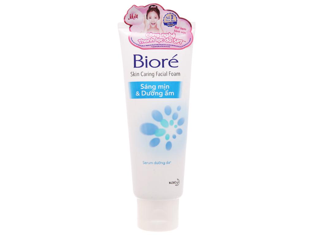 Sữa rửa mặt Bioré sáng mịn dưỡng ẩm 100g 2