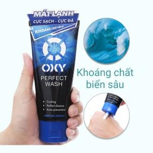 Kem rửa mặt Oxy Perfect Wash sạch bã nhờn ngừa khuẩn mụn 100g