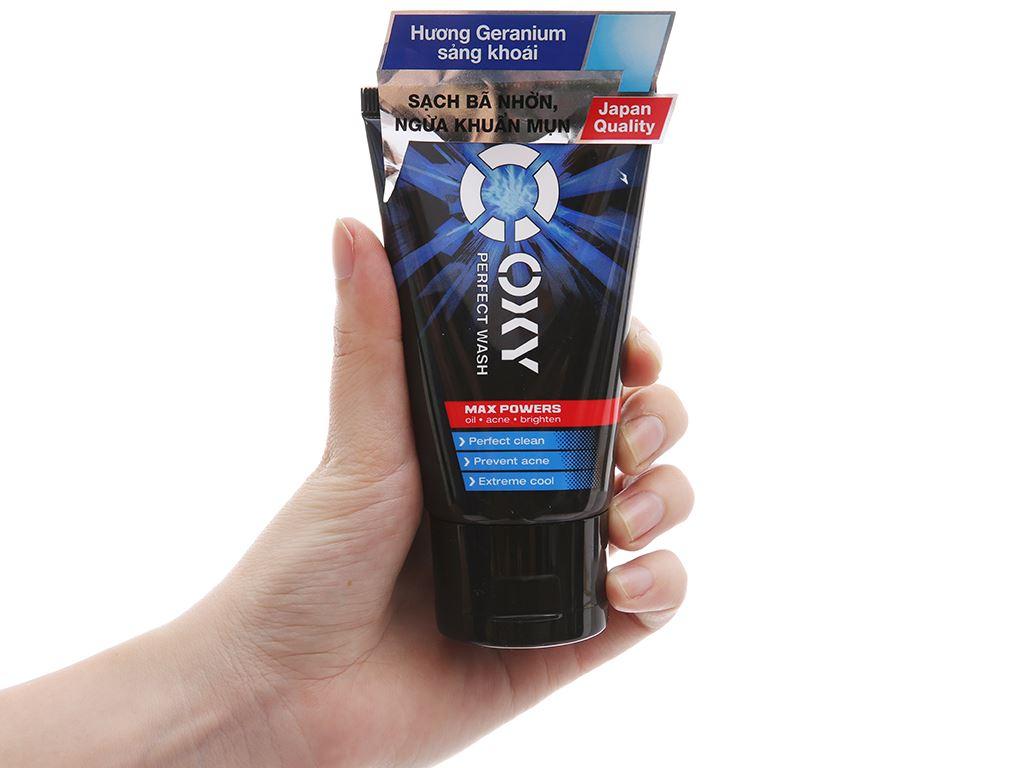 Kem rửa mặt Oxy Perfect Wash sạch bã nhờn ngừa khuẩn mụn 50g 4