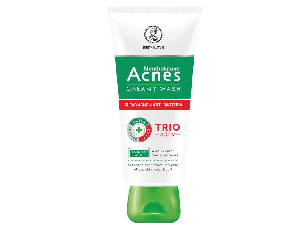 Kem rửa mặt Acnes ngăn ngừa mụn 100g 2