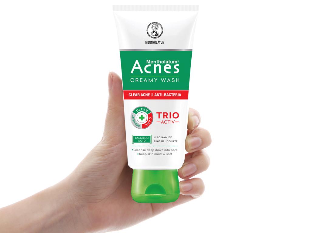 Kem rửa mặt Acnes ngăn ngừa mụn 100g 4