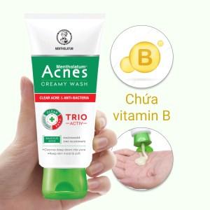 Kem rửa mặt Acnes ngăn ngừa mụn 100g
