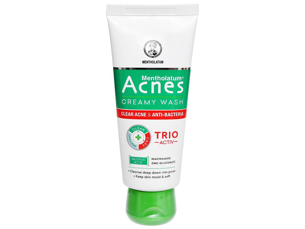 Kem rửa mặt Acnes ngăn ngừa mụn 50g 6