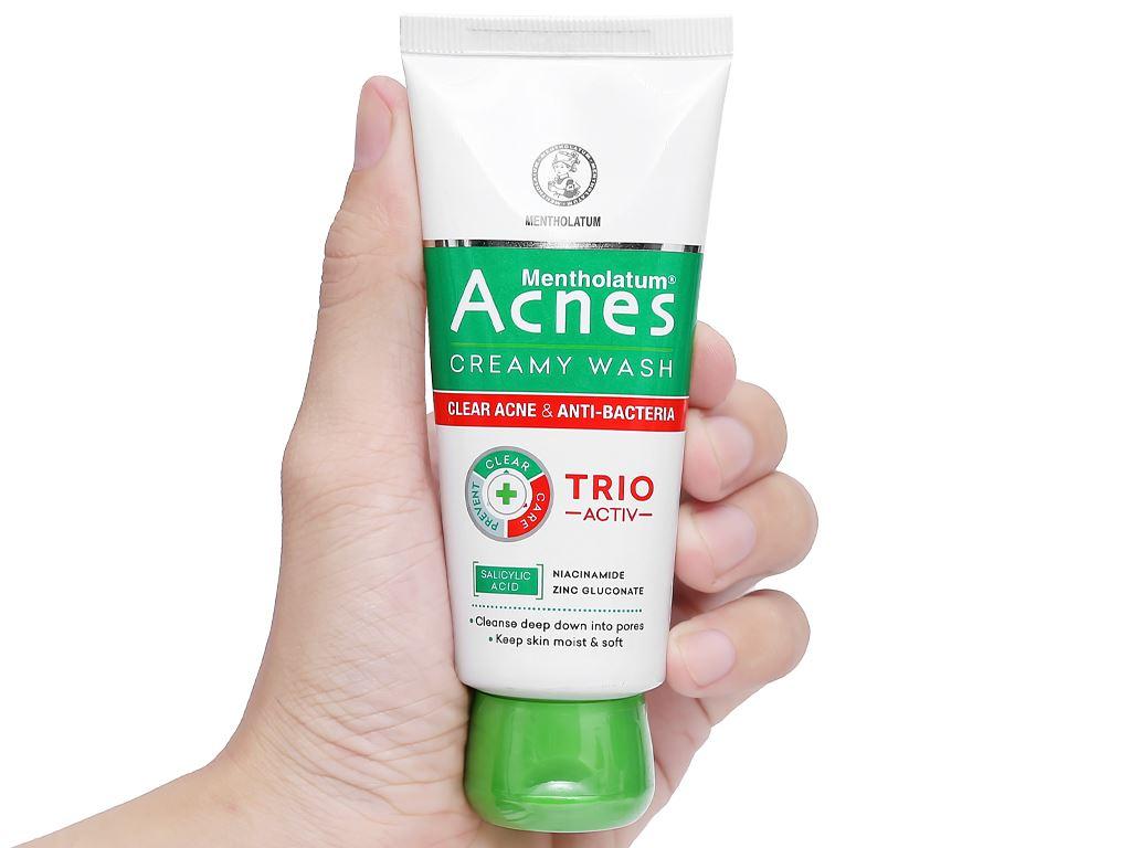 Kem rửa mặt Acnes ngăn ngừa mụn 50g 9