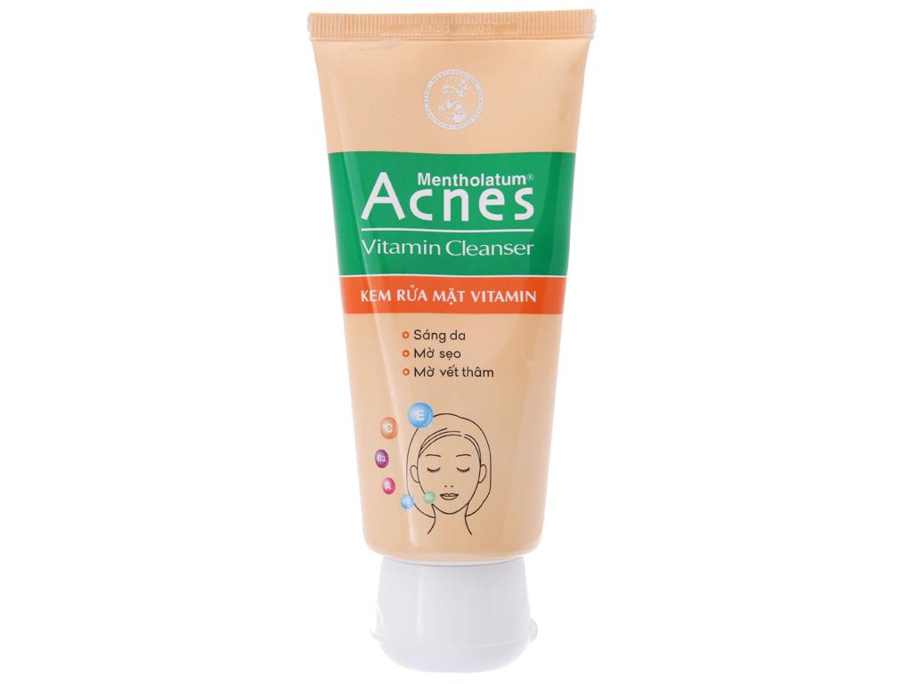 Kem rửa mặt Vitamin Acnes sáng da mờ sẹo và vết thâm 100g 2