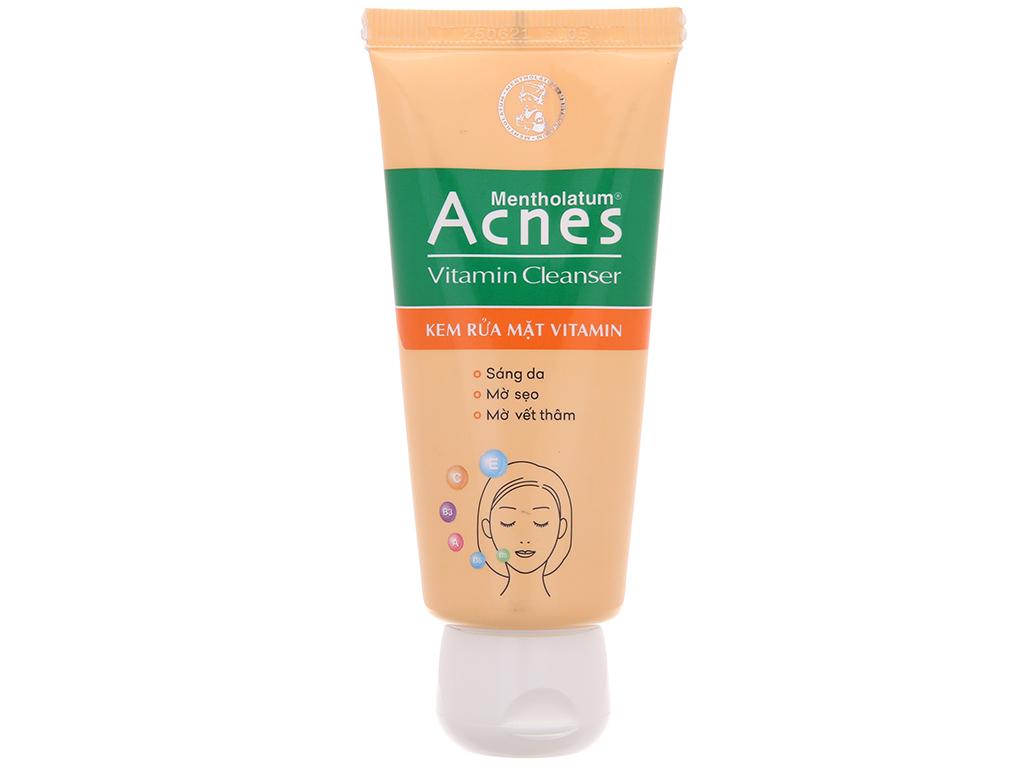 Kem rửa mặt Vitamin Acnes sáng da mờ sẹo và vết thâm 50g 2