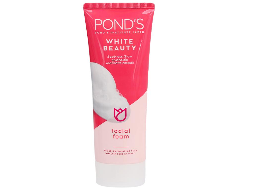 Sữa rửa mặt sáng da Pond's White Beauty 100g 1