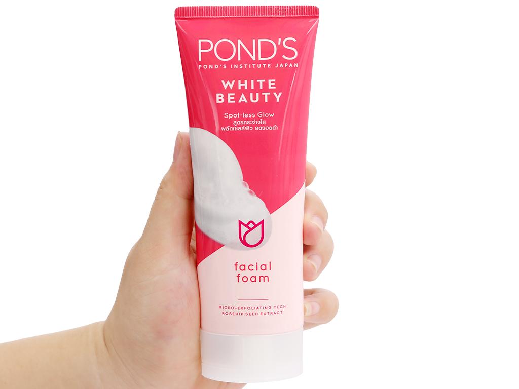 Sữa rửa mặt sáng da Pond's White Beauty 100g 4