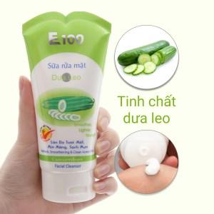 Sữa rửa mặt E100 dưa leo 100g