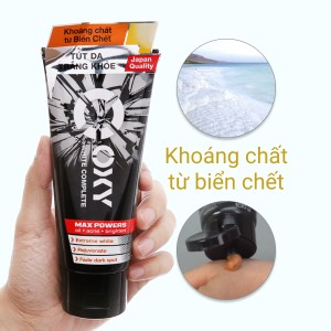 Kem rửa mặt tút trắng Oxy White Complete 100g