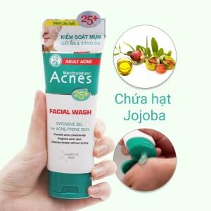 Gel rửa mặt Acnes ngăn ngừa mụn cho tuổi 25+ 100g