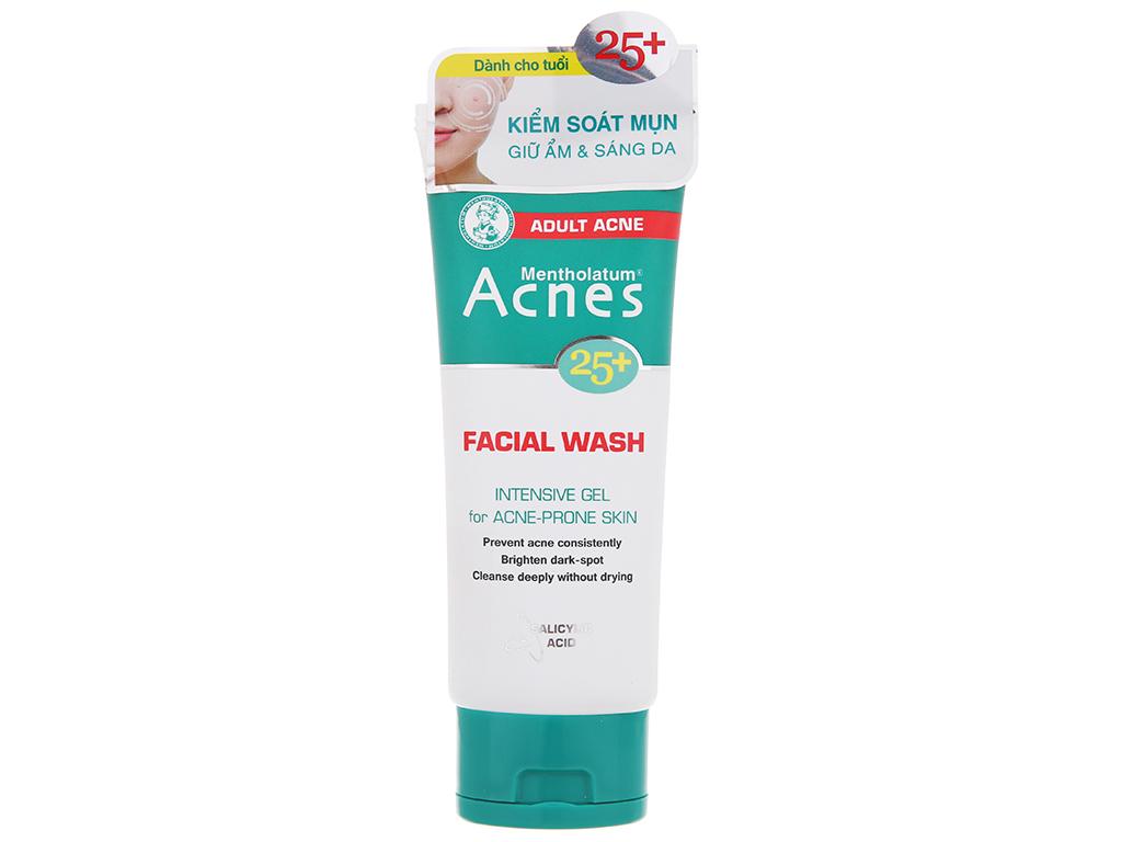 Gel rửa mặt Acnes ngăn ngừa mụn cho tuổi 25+ 100g 2