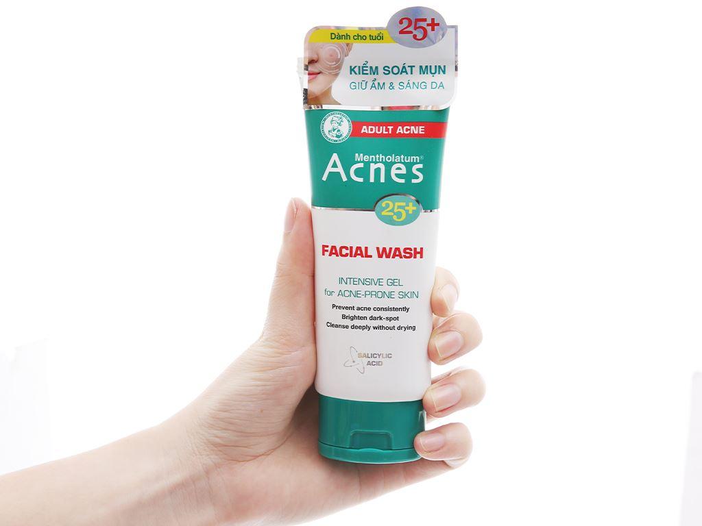 Gel rửa mặt Acnes ngăn ngừa mụn cho tuổi 25+ 100g 4