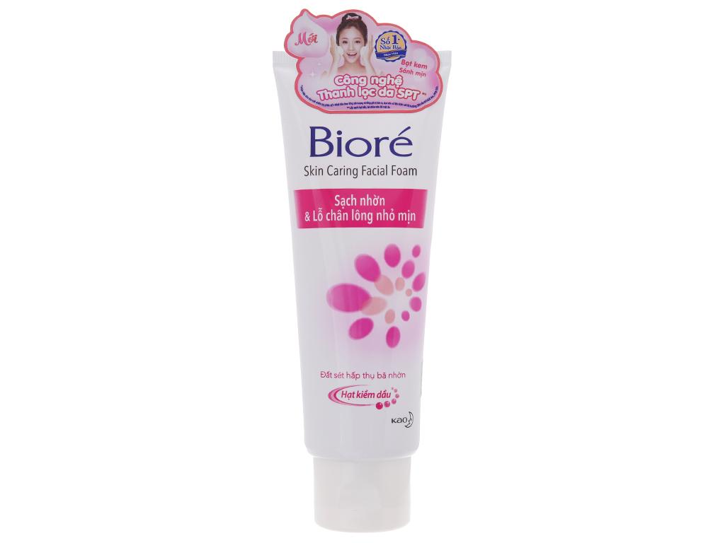 Sữa rửa mặt Bioré hạt mịn sạch nhờn lỗ chân lông nhỏ mịn 100g 2