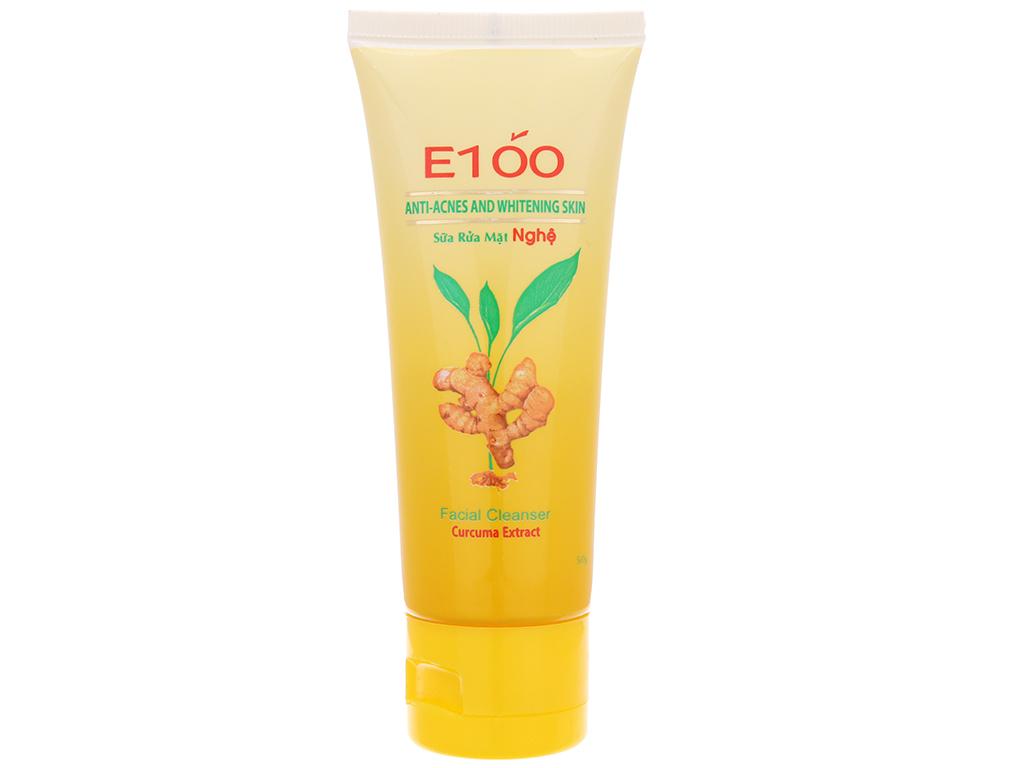 Sữa rửa mặt nghệ E100 50g 2
