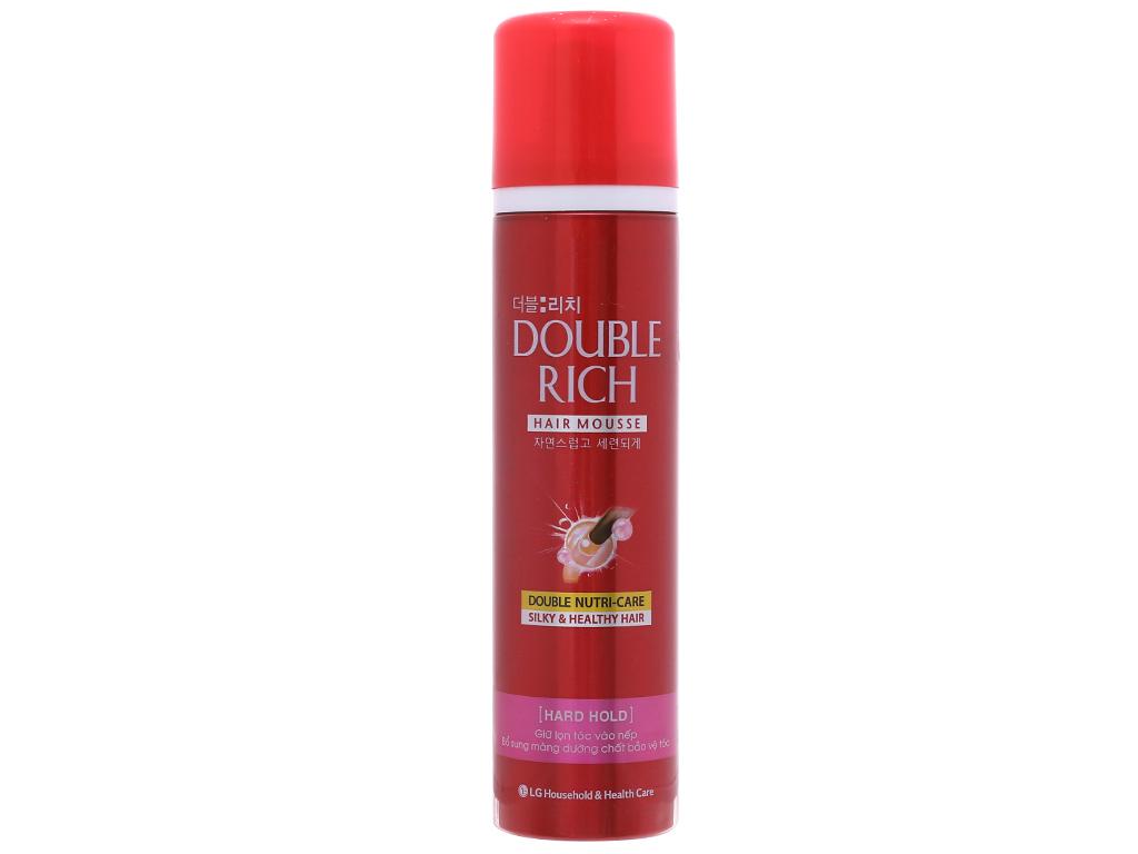 Mousse dưỡng tóc Double Rich - 2