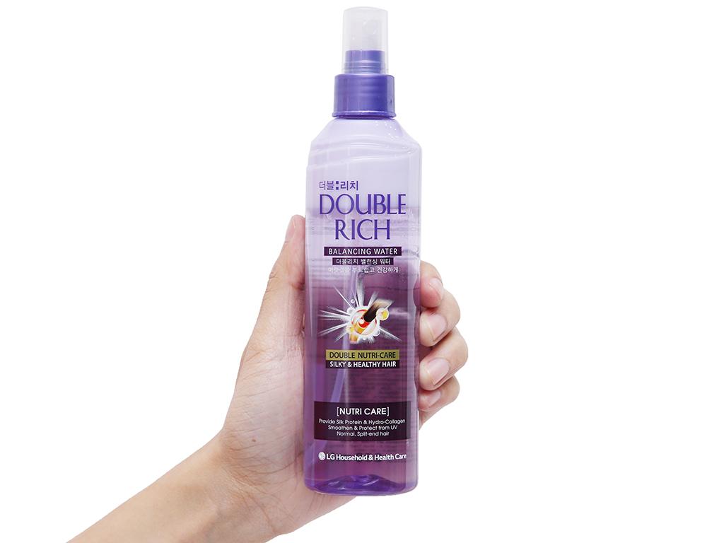 Xịt dưỡng tóc Double Rich dưỡng mềm mượt 250ml 4