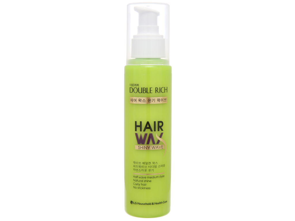 Wax tạo kiểu tóc Double Rich tự nhiên 130ml 2