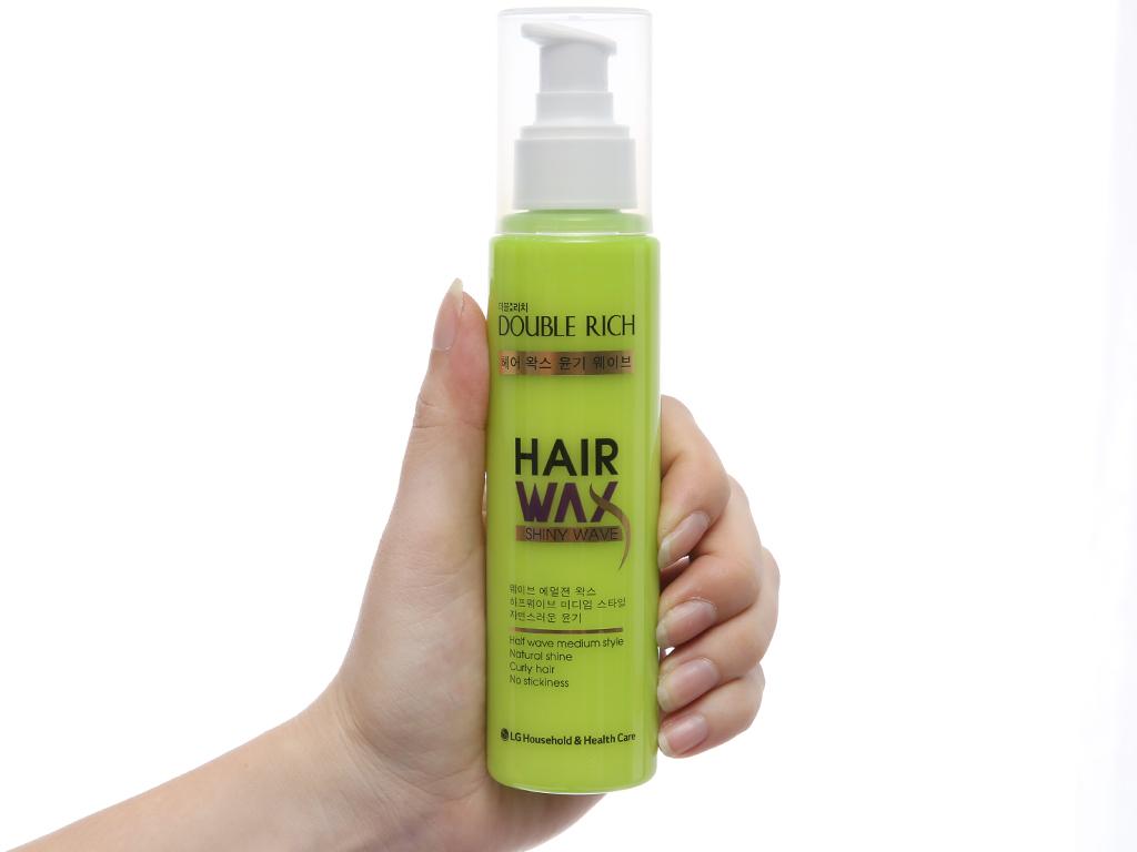 Wax tạo kiểu tóc Double Rich tự nhiên 130ml 4