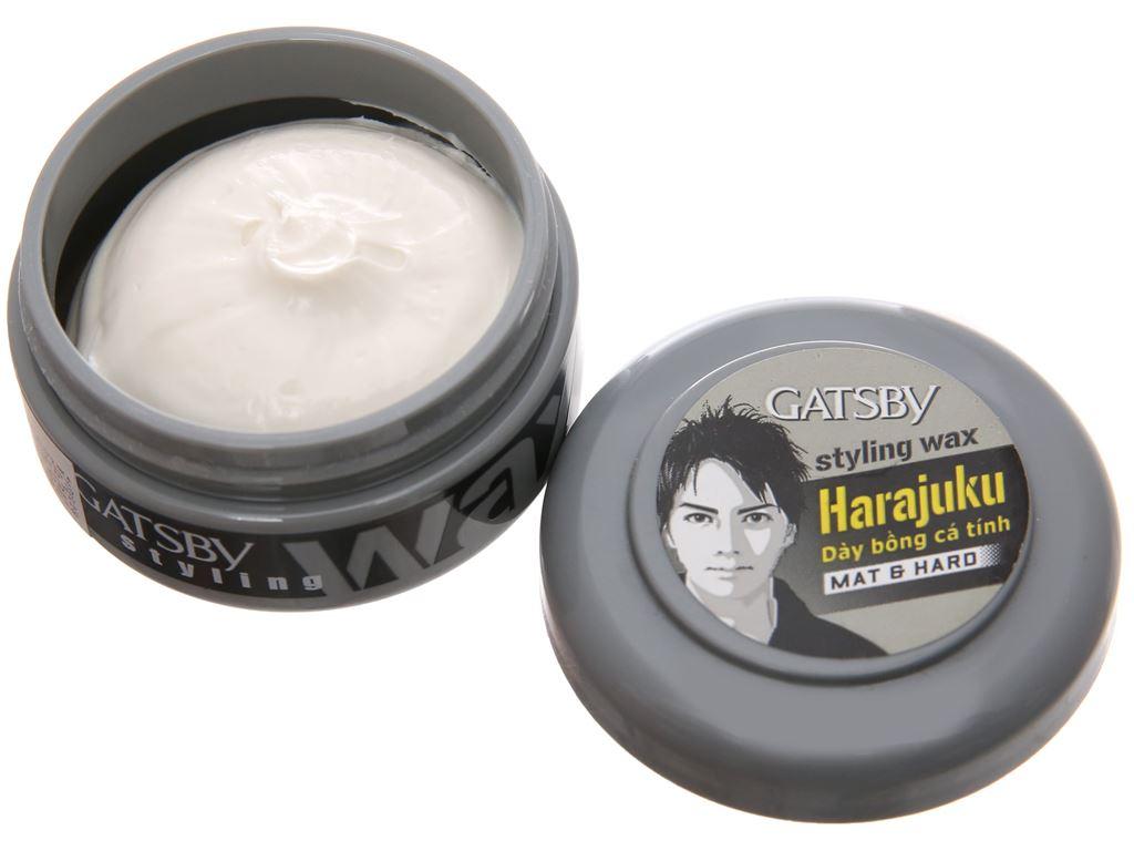 Wax vuốt tóc Gatsby Mat & Hard dày bồng cá tính 25g 4