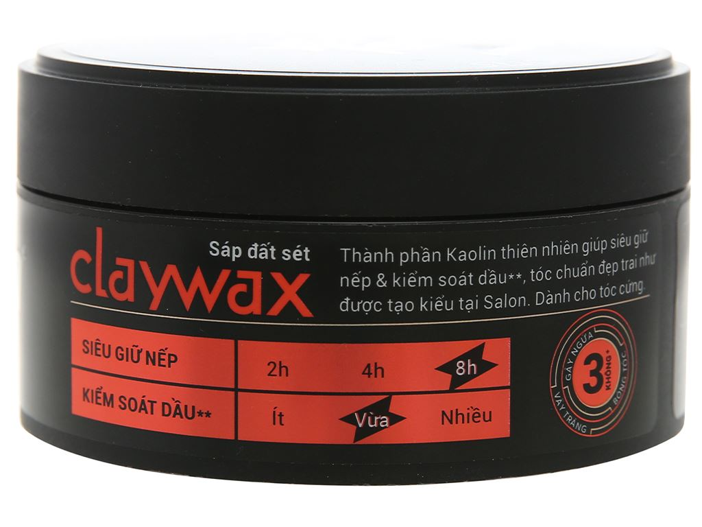 Sáp X-Men Salon Solution Clay Wax 70g 3