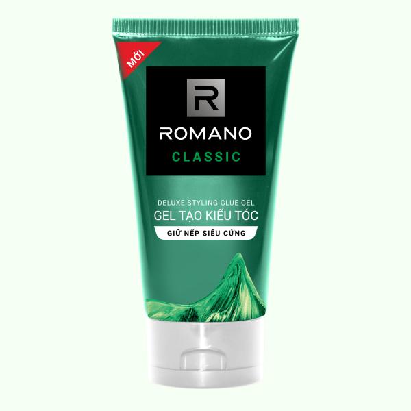 Gel vuốt tóc Romano Classic giữ nếp siêu cứng 150g