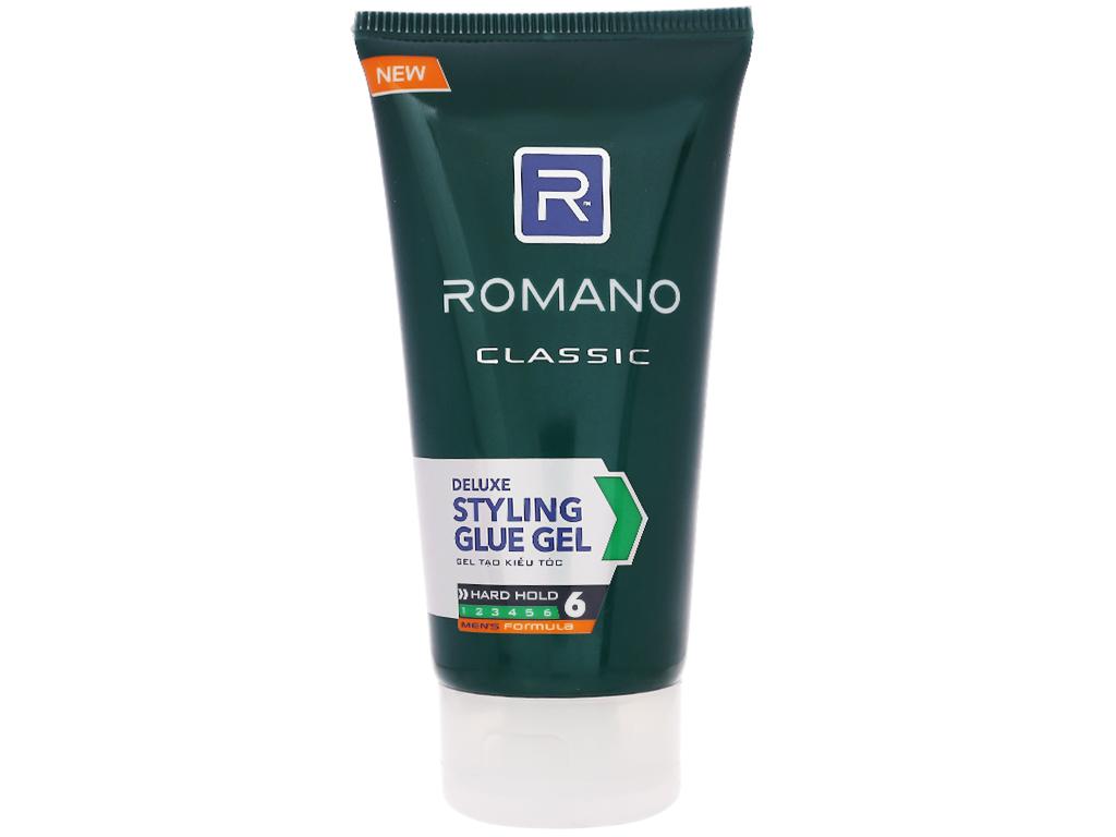 Gel vuốt tóc Romano Classic giữ nếp siêu cứng 150g 1