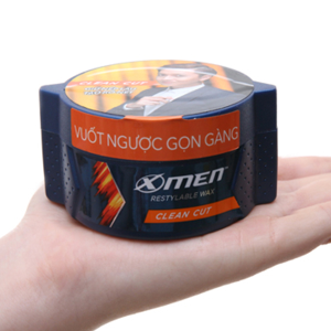 Wax vuốt tóc X-Men Clean Cut cứng vừa 70g