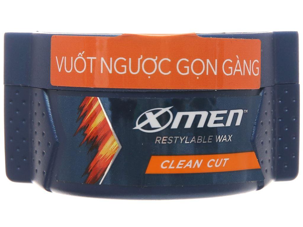 Wax vuốt tóc X-Men Clean Cut vuốt ngược gọn gàng 70g 2