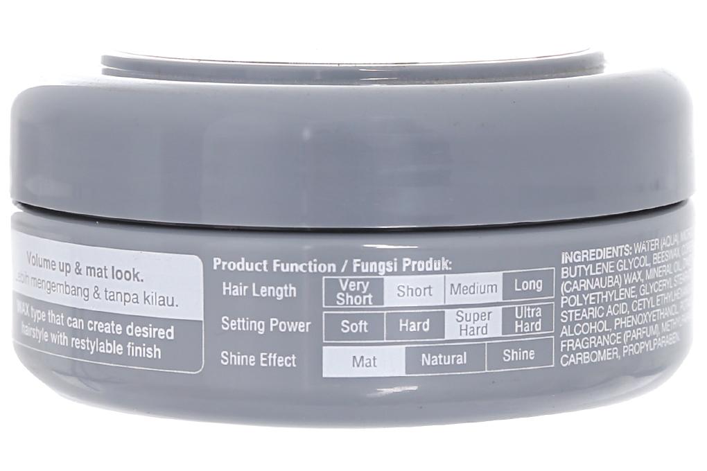 Keo vuốt tóc Gastby M&H đen 75 gam