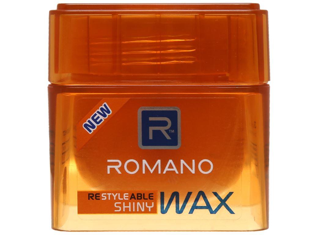 Sáp tạo kiểu tóc Romano Shiny giữ nếp cứng bóng mượt 68g 2