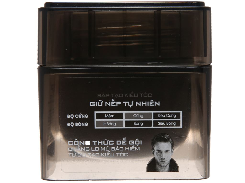 Sáp tạo kiểu tóc Romano Matte giữ nếp tự nhiên 68g 3