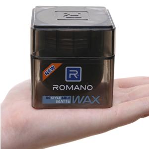 Sáp tạo kiểu tóc Romano Matte giữ nếp tự nhiên 68g